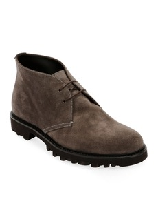 Armani Men's Suede Chukka Boot