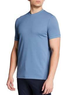 Armani Men's Textured Jersey T-Shirt