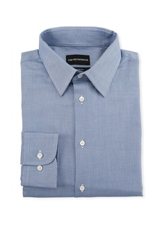 Armani Men's Tonal Square Modern-Fit Dress Shirt
