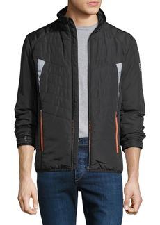 Armani Men's EA7 Wind-Resistant Padded Jacket
