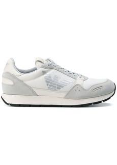 Armani mesh panel sneakers