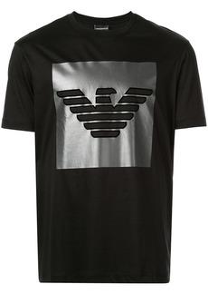 Armani metallic logo T-shirt