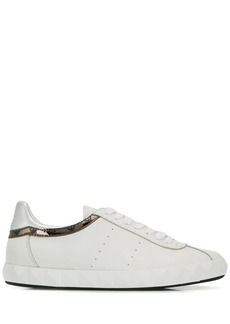 Armani metallic sneakers