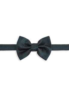 Armani Micro Dot Silk Bow Tie