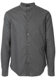 Armani micro-print shirt