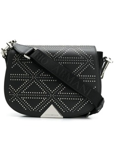 Armani micro studs shoulder bag
