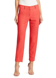 Armani Micro Weave Tapered Trousers