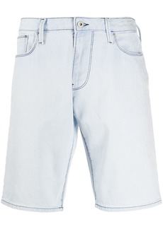 Armani mid-length denim shorts