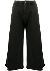 Armani mid rise cropped jeans