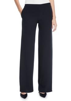 Armani Mid-Rise Silk Trousers