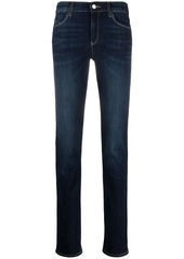 Armani mid-rise skinny jeans