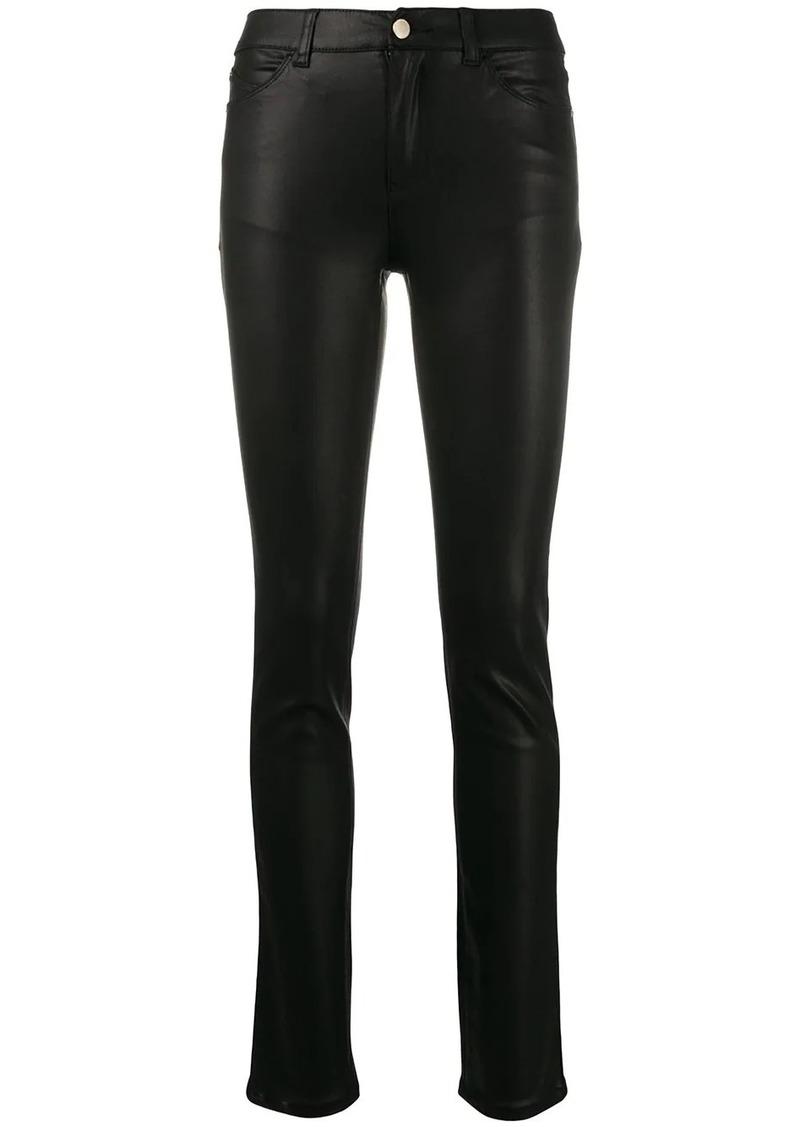 Armani mid rise skinny jeans