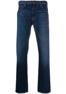 Armani mid rise slim fit jeans
