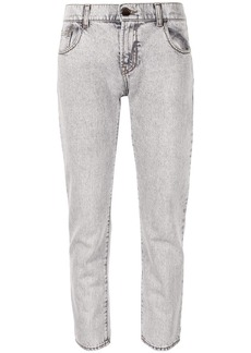 Armani mid-rise straight leg jeans