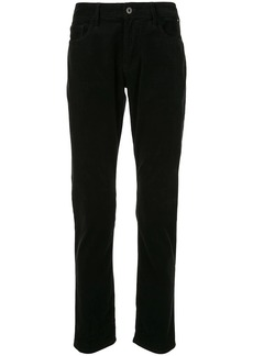 Armani mid-rise straight-leg trousers