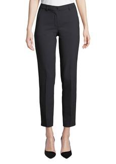 Armani Midnight Classic Straight-Leg Pants