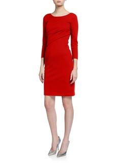 Armani Milano Jersey Faux Wrap Dress