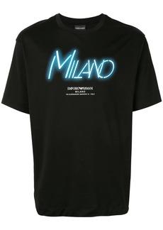 Armani Milano print T-shirt