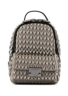 Armani mini quilted backpack