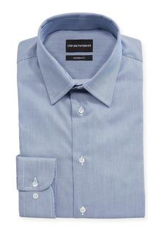 Armani Modern Fit Fine Stripe Barrel-Cuff Dress Shirt