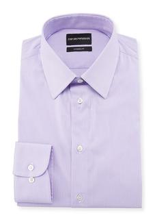 Armani Modern-Fit Fine-Stripe Dress Shirt