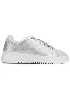 Armani monogram chunky sole sneakers