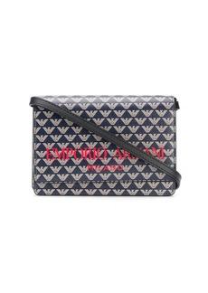 Armani monogram mini crossbody bag