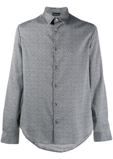 Armani monogram print shirt