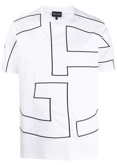 Armani monogram T-shirt