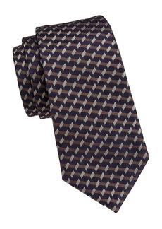 Armani Multi Stripe Silk Tie