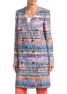 Armani Multicolor Tweed Jacket