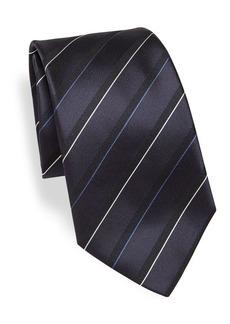 Armani Navy Multi Stripe Tie