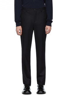 Armani Navy Wool Trousers
