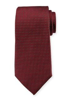 Armani Neat Dot Silk Tie