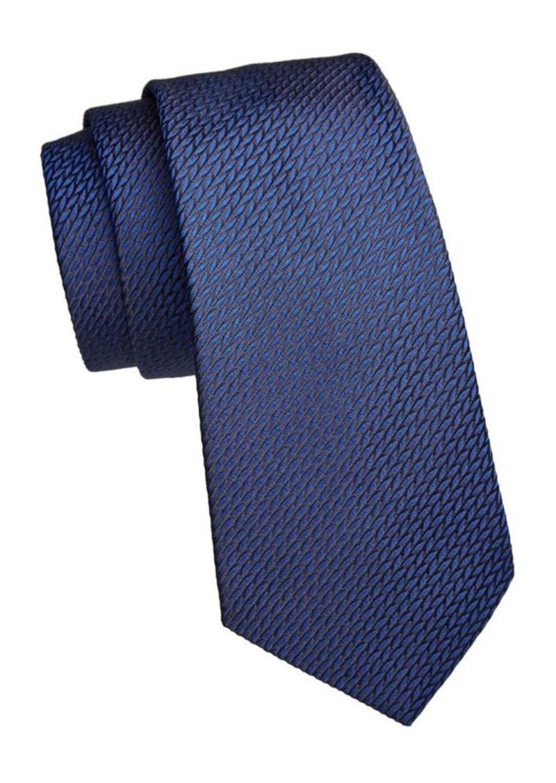 Armani Neat Texture Silk Tie