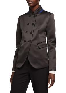 Armani Neoprene High-Collar Jacket