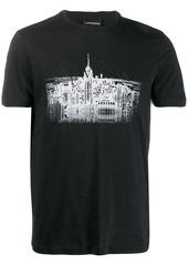 Armani New York skyline T-shirt