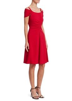 Armani Off-The-Shoulder A-Line Dress