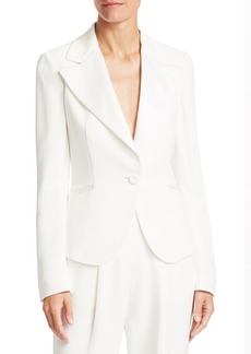 Armani One-Button Blazer