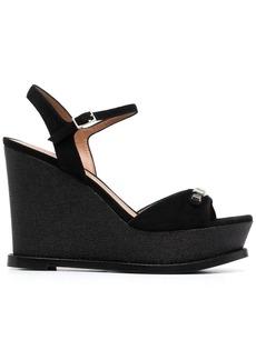 Armani open-toe wedge sandals