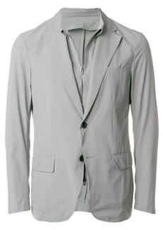 Armani overlay blazer
