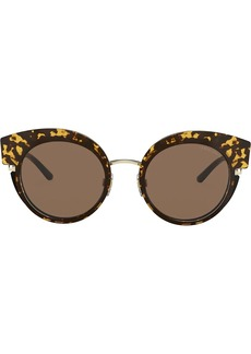 Armani oversized cat-eye sunglasses