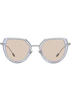 Armani oversized frame sunglasses