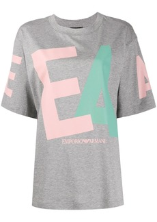 Armani oversized graphic-print T-shirt