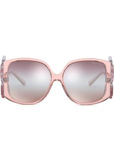 Armani oversized square-frame sunglasses