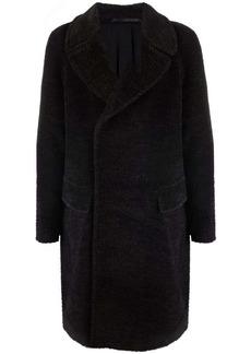 Armani oversized wool coat