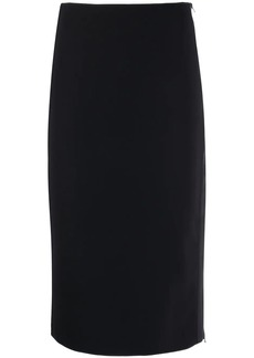 Armani panelled pencil midi skirt