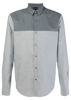 Armani panelled shirt