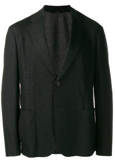 Armani patch-pocket blazer