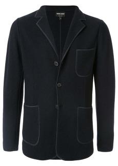 Armani patch pocket blazer